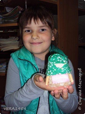Добрый день!   Принимайте наших куколок Зернушку и Богача, изготовленных детьми с большой любовью. фото 5
