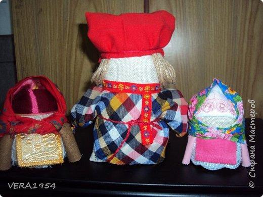 Добрый день!   Принимайте наших куколок Зернушку и Богача, изготовленных детьми с большой любовью. фото 1