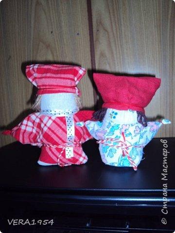 Добрый день!   Принимайте наших куколок Зернушку и Богача, изготовленных детьми с большой любовью. фото 2