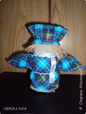 Добрый день!   Принимайте наших куколок Зернушку и Богача, изготовленных детьми с большой любовью. фото 4