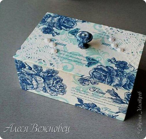 Нежная шкатулочка для дорогой подружки в День рождения. фото 1
