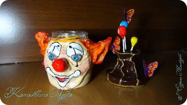 """Счастливая баночка """"Клоун"""" фото 3"""
