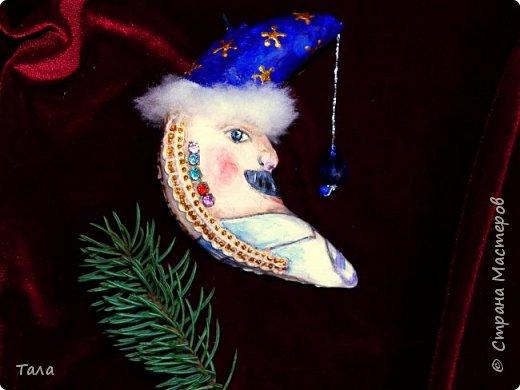 Скоро Новый год!(Игрушки на елку)    МЕСЯЦЫ    (13 см) фото 2