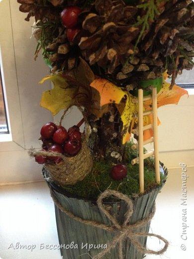 Это сказочное осеннее дерево было сделано по поводу выставки в школе фото 3