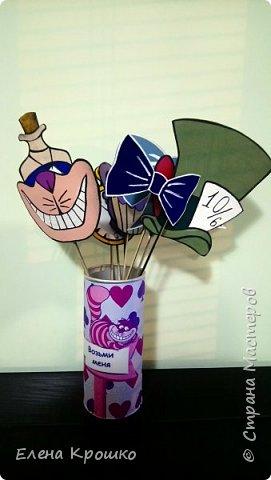 Неделя подготовки и Вуа-ля! Декор для фотоссесии из сказки Алиса в Стране чудес! фото 8