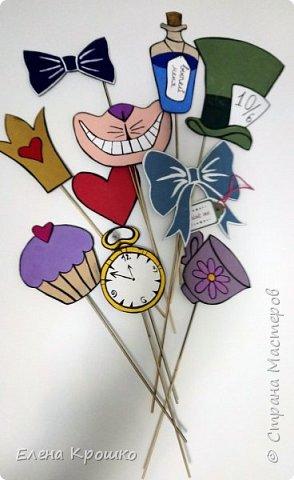 Неделя подготовки и Вуа-ля! Декор для фотоссесии из сказки Алиса в Стране чудес! фото 1