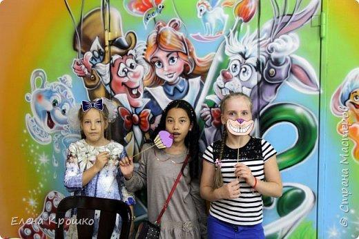 Неделя подготовки и Вуа-ля! Декор для фотоссесии из сказки Алиса в Стране чудес! фото 9
