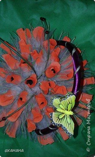 Корзиночка роз ( конфеты марсианка 41 шт) фото 2