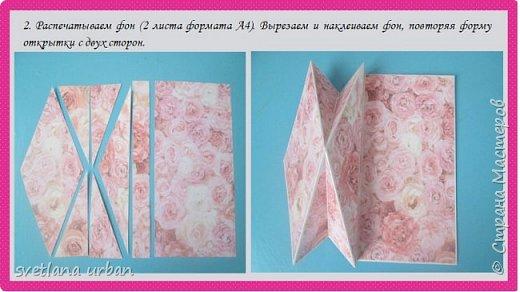 "Мастер-класс открытка ""С Днем матери!"" фото 7"