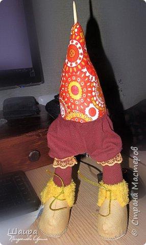 Кукла 47 см. Самостоятельно крепенько стоит. Голова и руки из капрона, тело и ножки  из ткани. фото 8