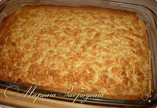 Здравствуйте! Поделюсь быстрым рецептом вкусного пирога с цитрусовой начинкой. фото 9