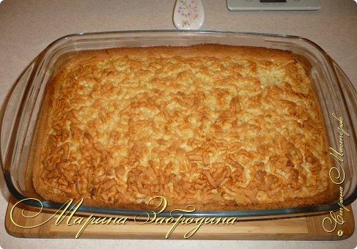 Здравствуйте! Поделюсь быстрым рецептом вкусного пирога с цитрусовой начинкой. фото 10