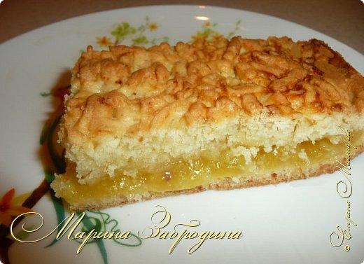 Здравствуйте! Поделюсь быстрым рецептом вкусного пирога с цитрусовой начинкой. фото 11