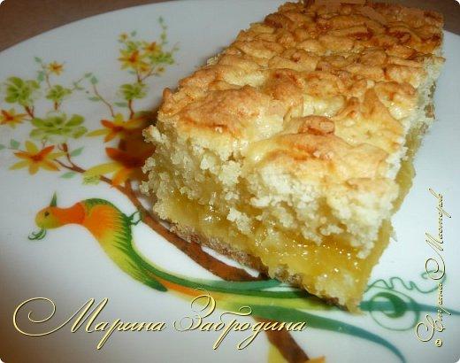 Здравствуйте! Поделюсь быстрым рецептом вкусного пирога с цитрусовой начинкой. фото 12
