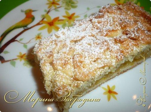 Здравствуйте! Поделюсь быстрым рецептом вкусного пирога с цитрусовой начинкой. фото 1
