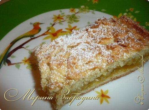Здравствуйте! Поделюсь быстрым рецептом вкусного пирога с цитрусовой начинкой. фото 13
