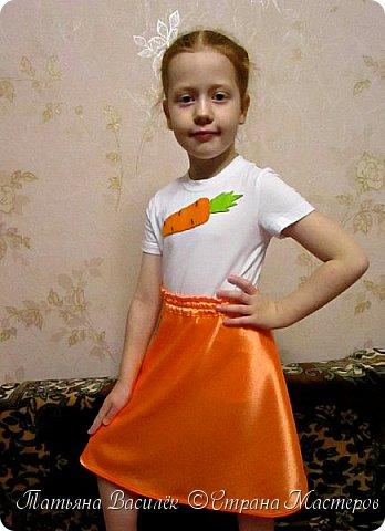 Костюм Морковки для Праздника Осени.  Придумался и смастерился, как это часто бывает, в авральном режиме, за пару часов из подручного материала. фото 8