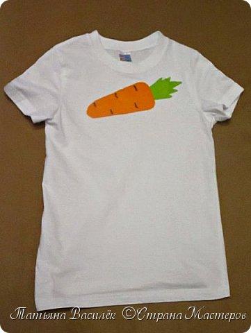 Костюм Морковки для Праздника Осени.  Придумался и смастерился, как это часто бывает, в авральном режиме, за пару часов из подручного материала. фото 2