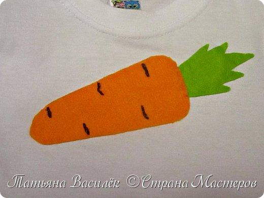 Костюм Морковки для Праздника Осени.  Придумался и смастерился, как это часто бывает, в авральном режиме, за пару часов из подручного материала. фото 3