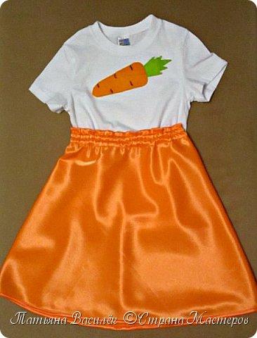 Костюм Морковки для Праздника Осени.  Придумался и смастерился, как это часто бывает, в авральном режиме, за пару часов из подручного материала. фото 1