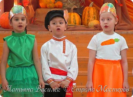Костюм Морковки для Праздника Осени.  Придумался и смастерился, как это часто бывает, в авральном режиме, за пару часов из подручного материала. фото 9