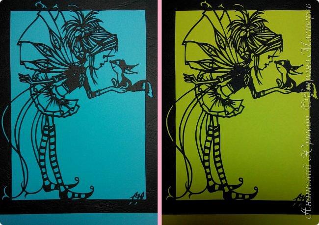 """- Всем добрый день! Вашему вниманию новая открытка которая порадует не только детей, но и взрослых. - Эскиз был выполнен, изменён и доработан под """"вырезалку"""" по работе детского художника-иллюстратора Марины Федотовой. - Размер 12х16см.(Как всегда) фото 13"""