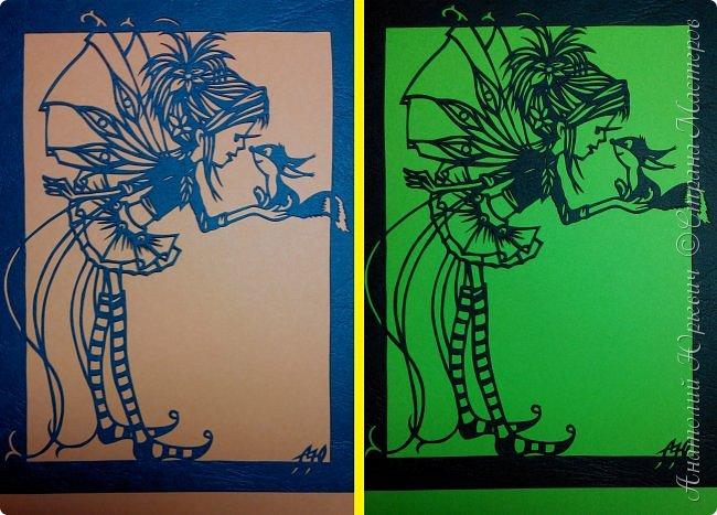 """- Всем добрый день! Вашему вниманию новая открытка которая порадует не только детей, но и взрослых. - Эскиз был выполнен, изменён и доработан под """"вырезалку"""" по работе детского художника-иллюстратора Марины Федотовой. - Размер 12х16см.(Как всегда) фото 14"""