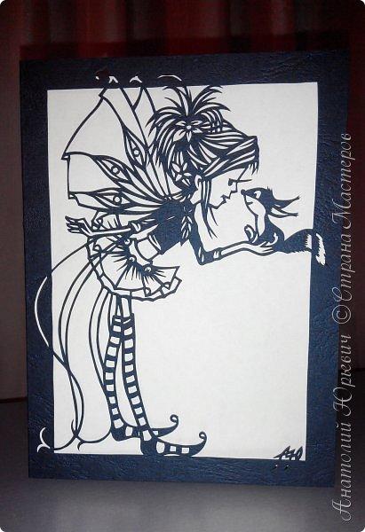 """- Всем добрый день! Вашему вниманию новая открытка которая порадует не только детей, но и взрослых. - Эскиз был выполнен, изменён и доработан под """"вырезалку"""" по работе детского художника-иллюстратора Марины Федотовой. - Размер 12х16см.(Как всегда) фото 15"""