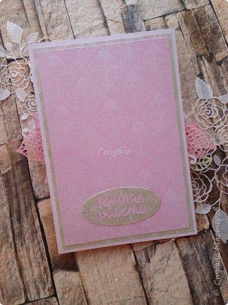 Давно не показывала свой кардмейкинг:)   Не очень люблю иностранные слова, но в листе от  ScrapBerry's они такие симпатичные:) ,  что уже второй раз делаю открытку:) фото 22