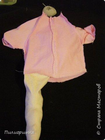 Для работы: 1.Ткань (бязь для головы,ног и кистей рук)  Для тела можно взять байку или тоже бязь.   2.Наполнитель (холофайбер или синтепон) 3.Иглы, нитки, маркер.  фото 18