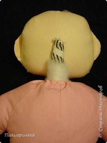 Для работы: 1.Ткань (бязь для головы,ног и кистей рук)  Для тела можно взять байку или тоже бязь.   2.Наполнитель (холофайбер или синтепон) 3.Иглы, нитки, маркер.  фото 28
