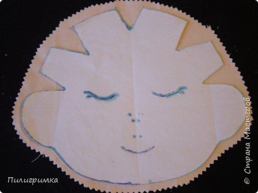 Для работы: 1.Ткань (бязь для головы,ног и кистей рук)  Для тела можно взять байку или тоже бязь.   2.Наполнитель (холофайбер или синтепон) 3.Иглы, нитки, маркер.  фото 8