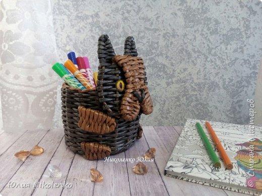 Добрый день, дорогие гости. Здесь я буду выкладывать свои органайзеры для карандашей. Запись будет дополнятся новыми фотографиями, а пока покажу что у меня есть. фото 3