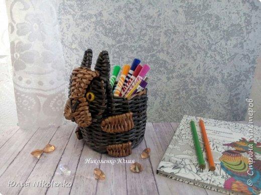 Добрый день, дорогие гости. Здесь я буду выкладывать свои органайзеры для карандашей. Запись будет дополнятся новыми фотографиями, а пока покажу что у меня есть. фото 4