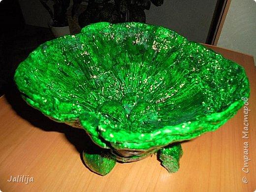 Приветствую всех своих гостей и показываю ещё одну работу из природного материала. Эта чаша сделана из двух грибов-трутовиков. фото 12