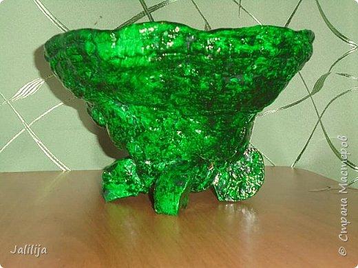 Приветствую всех своих гостей и показываю ещё одну работу из природного материала. Эта чаша сделана из двух грибов-трутовиков. фото 5