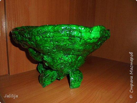 Приветствую всех своих гостей и показываю ещё одну работу из природного материала. Эта чаша сделана из двух грибов-трутовиков. фото 6