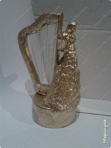 Вот и готова вторая часть композиции музыкальных инструментов. На этот раз это скрипка... фото 2