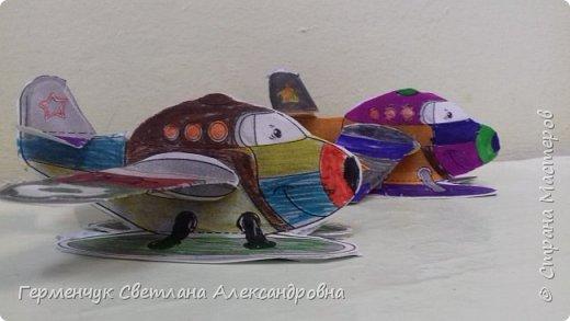 """На уроке трудового обучения  ребята  3 """"А"""" класса  работали над созданием моделей   самолетиков. Получилась вот такая эскадрилья!!! Славно потрудились будущие конструкторы!!! МОЛОДЦЫ!!! фото 14"""
