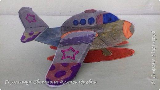 """На уроке трудового обучения  ребята  3 """"А"""" класса  работали над созданием моделей   самолетиков. Получилась вот такая эскадрилья!!! Славно потрудились будущие конструкторы!!! МОЛОДЦЫ!!! фото 4"""