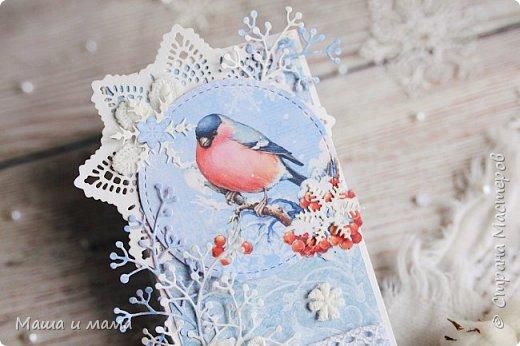 Здравствуйте!!! Похоже меня накрыло волной новогоднего вдохновения, хотя ни снега, ни новогоднего настроения я не наблюдаю. Пока... Делюсь с вами. Мои шоколадницы. фото 13