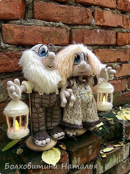 Домовички-Хранители с фонариками фото 2