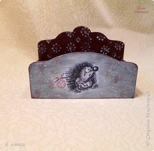Коробушка для новогодних пожеланий, конфет, мандаринок и даже шариков))) фото 2