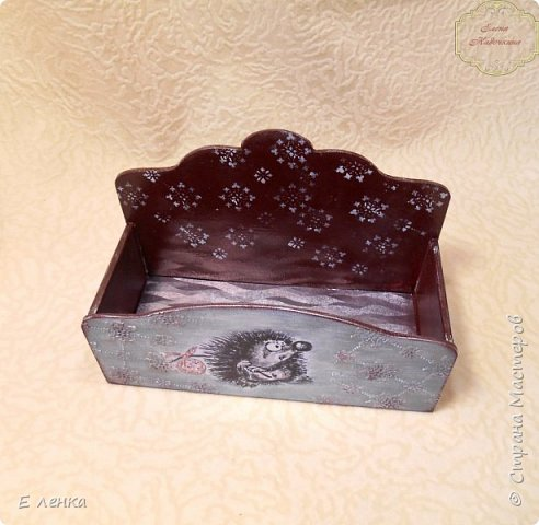 Коробушка для новогодних пожеланий, конфет, мандаринок и даже шариков))) фото 3