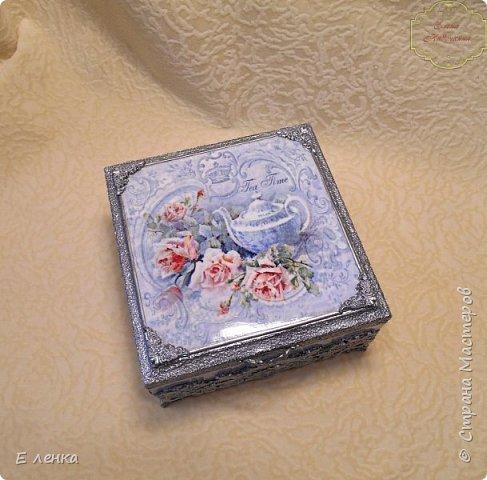 """Шкатулка """"Розы в серебре"""" фото 6"""