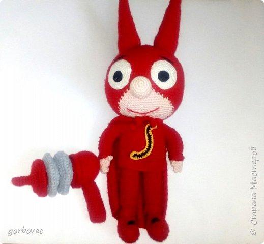 Супергерой СамСам, получился крупненьким больше 30 см. фото 1