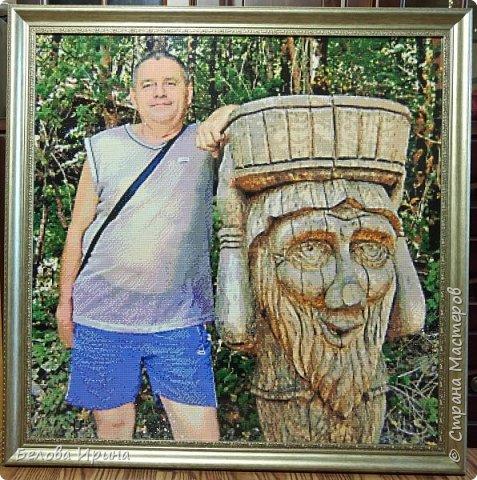 Портрет- подарок брату на юбилей