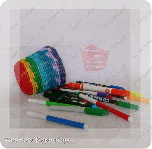 Большая корзина для игрушек и маленькая для карандашей или мелких игрушек. Вдохновила меня Татьяна Юрова. фото 8