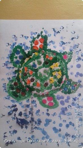 """Работы ребят 3 """"А"""" класса """"Эти забавные животные """"  выполнены  нетрадиционным способом рисования- ватными палочками. Раскраски  взяли из   Интернета фото 8"""