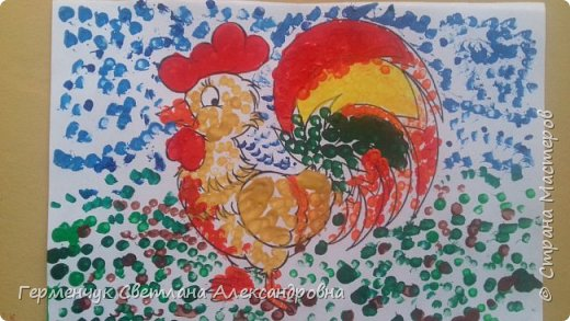 """Работы ребят 3 """"А"""" класса """"Эти забавные животные """"  выполнены  нетрадиционным способом рисования- ватными палочками. Раскраски  взяли из   Интернета фото 7"""